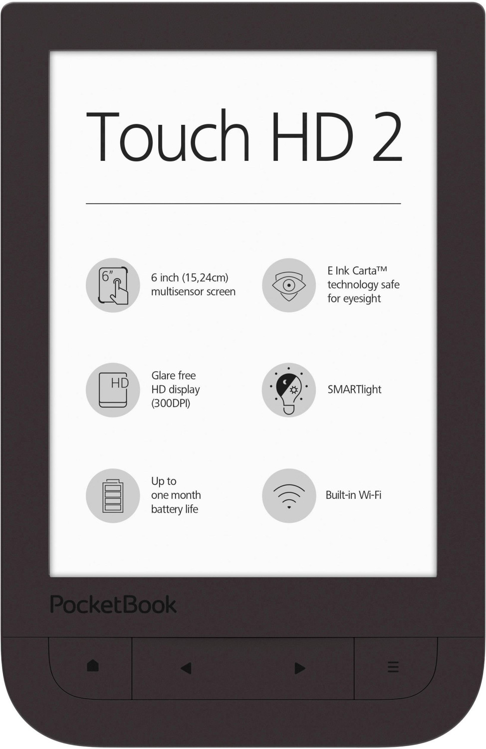 PocketBook Touch HD 2 braun