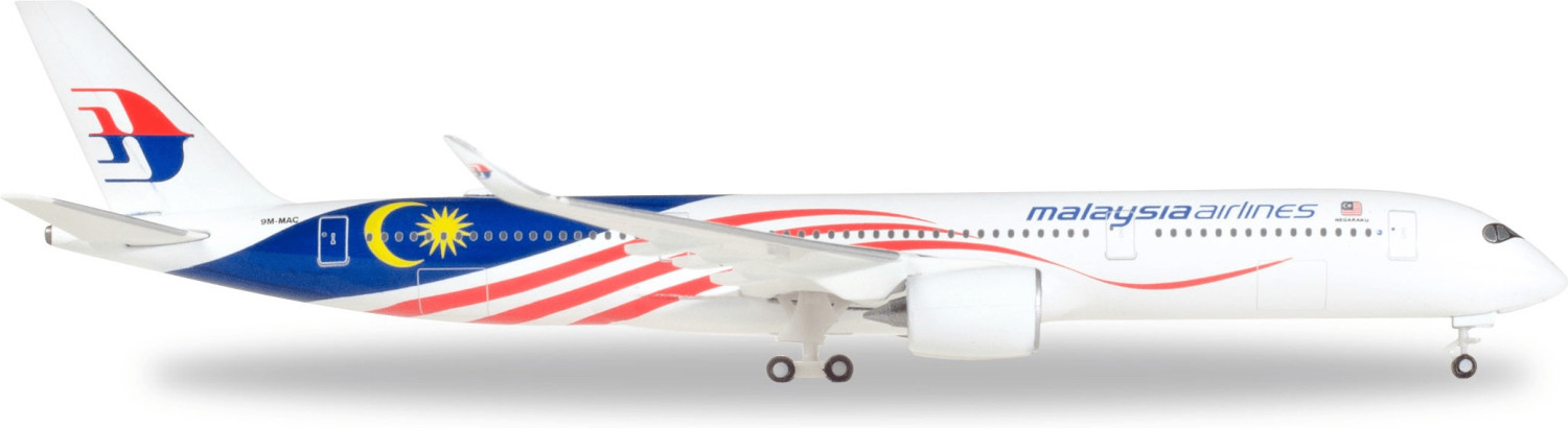 Herpa Malaysia Airlines Airbus A350-900 ´´Negar...
