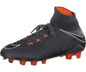 Nike Hypervenom Phantom III Elite DF FG dark greywhite