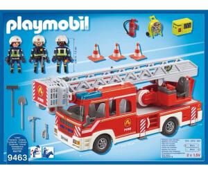 Pivotante9463Au Pompiers Camion Playmobil De Échelle Avec NXZk8n0wOP