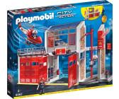 Playmobil city action comparer les prix avec - Caserne de police playmobil ...