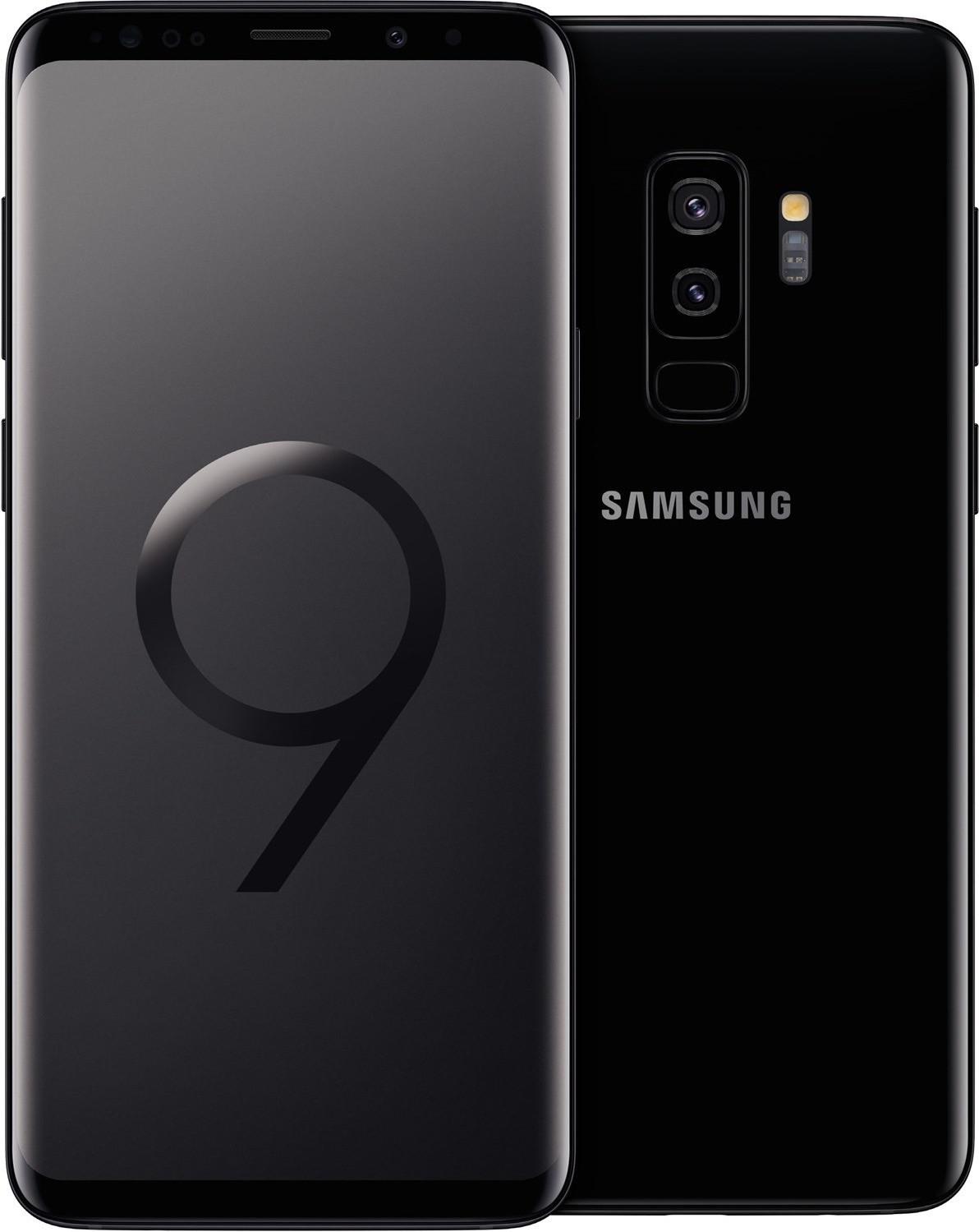 samsung galaxy s9 g965f dual sim 64gb midnight black neu. Black Bedroom Furniture Sets. Home Design Ideas