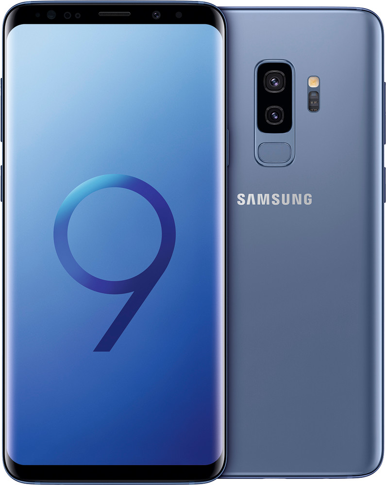 Image of Samsung Galaxy S9+ 64GB Coral Blue