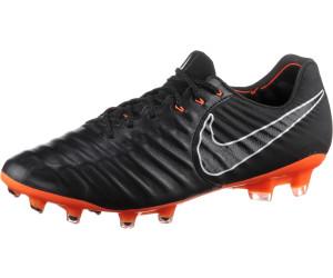 separation shoes dcffc 6fd01 Nike Tiempo Legend VII Elite FG black white total orange
