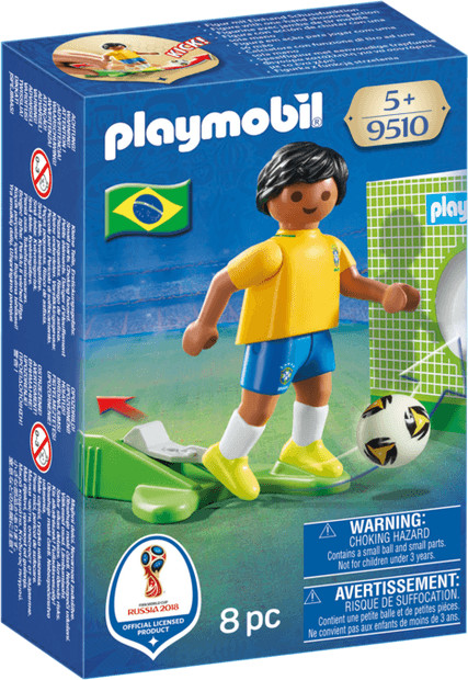Playmobil Fußball - Nationalspieler Brasilien (...
