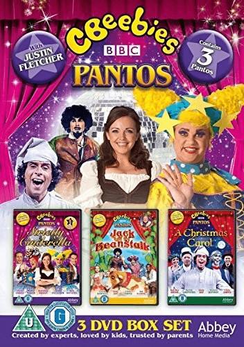 Image of CBeebies Live Panto Box Set : Strictly Cinderella, Jack & The Beanstalk, A Christmas Carol [DVD]