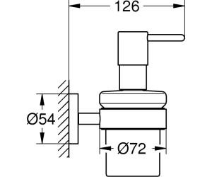 Grohe Essentials Seifenspender Mit Halter Chrom 40448001 Ab 32 09