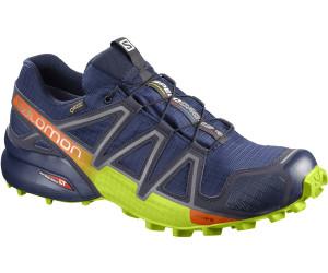 Salomon Speedcross Pro, Chaussures de Trail Homme, Noir (Black/Black/Corona Yellow), 48 EU