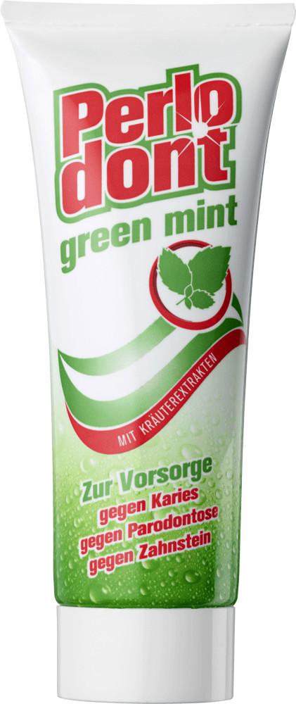 Dental-Kosmetik Perlodont Green Mint Zahncreme ...