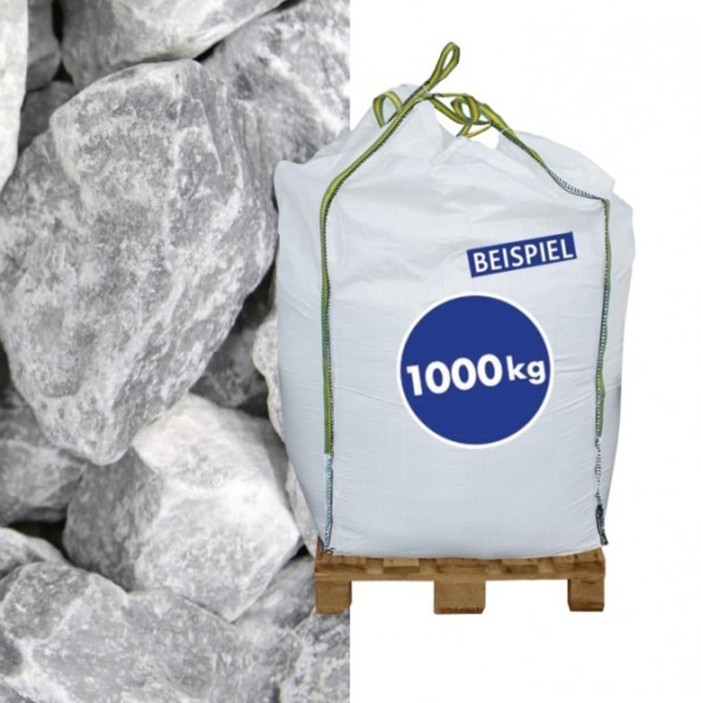 Hamann Gabionensteine Marmorbruch Ice Blue 70-120 mm 1000 kg