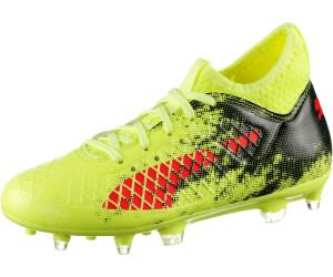 Puma Future 18.3 TT, Chaussures de Football Homme, Jaune (Fizzy Yellow-Red Blast Black), 40 EU
