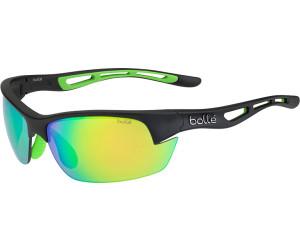 Bollé Bolt S-Matte Black/Green Rubber-Brown Emerald-S zUwlG