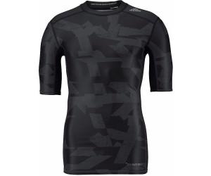 a846037b47f Adidas Techfit Chill Print T-Shirt au meilleur prix sur idealo.fr