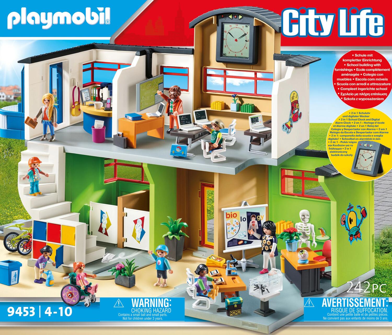 Playmobil City Life - Große Schule mit Einricht...
