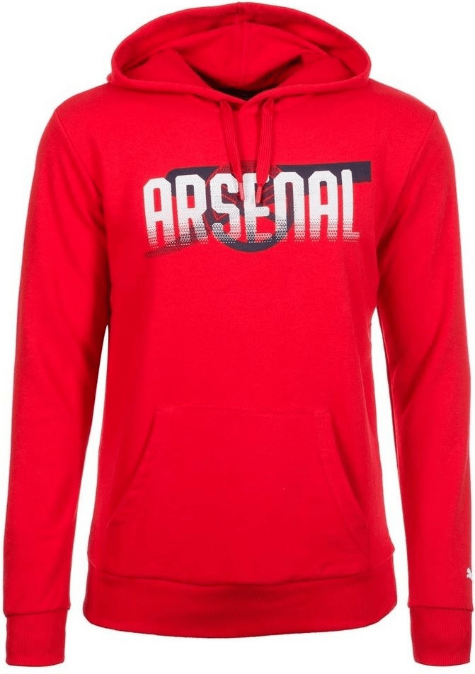 Puma Arsenal London Cannon Pullover high risk red
