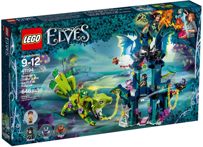 LEGO Elves - Torre de Noctura y el rescate del zorro de la tierra (41194)