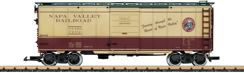 LGB Napa Valley Wine Train gedeckter Güterwagen...