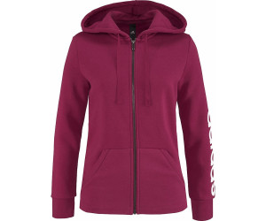 a0bb664a19e07 Adidas Women Essentials Linear Full Zip Hoodie au meilleur prix sur ...