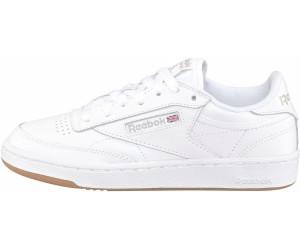 139acf44ec5 Buy Reebok Club C 85 Women white light grey gum from £57.38 – Best ...