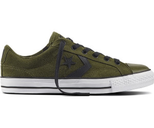 STAR PLAYER - OX CAMO SUEDE - Sneaker low - vintage khaki/black/white jQiJpX