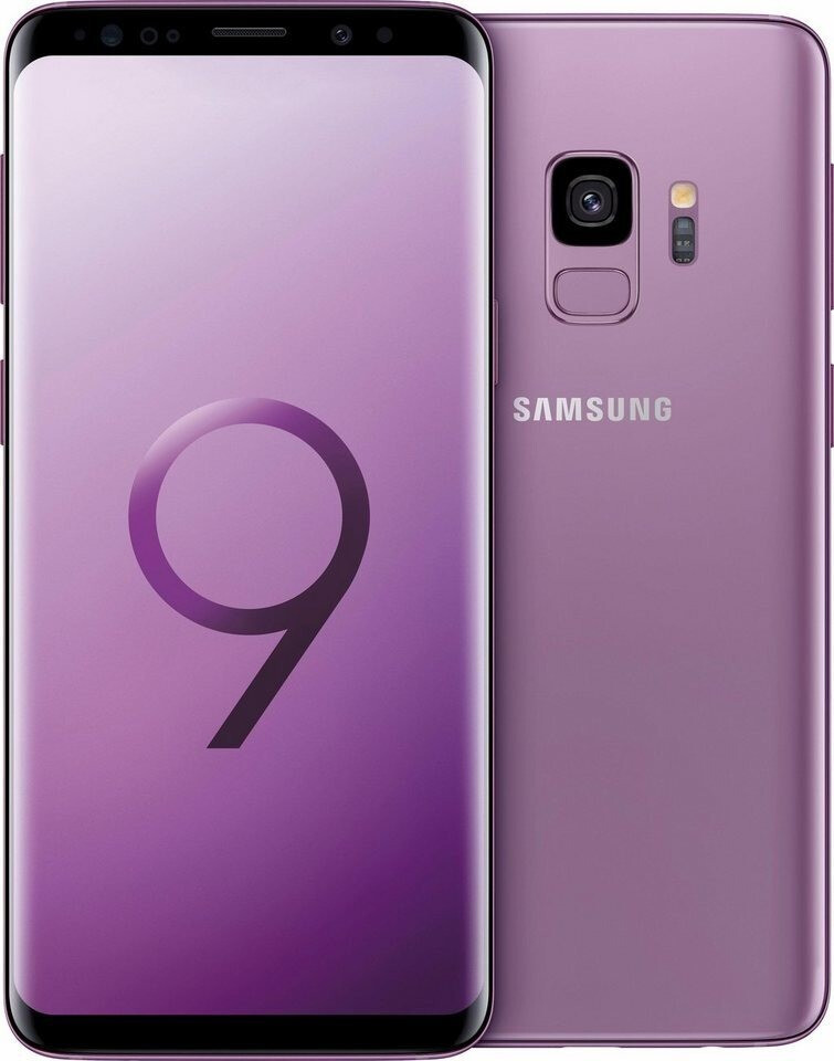 Image of Samsung Galaxy S9 Single Sim 64GB lilac purple
