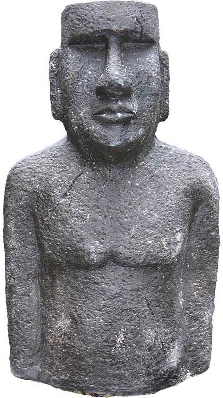 Brema Dekofigur Moai 40x25x73cm