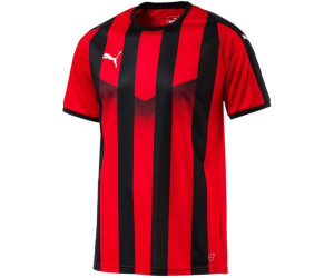 Puma Liga Striped Football Jersey puma redpuma black au