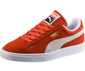 Puma Schuhe Herren Puma Suede Classic + Burnt OrangeWeiß