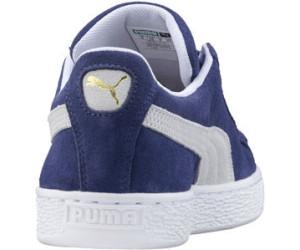 Puma Suede Classic blue indigopuma white au meilleur prix