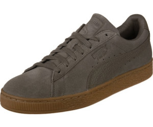 outlet store a8551 96835 Chaussures Blanche Porte noires homme Puma Suede Classic Organic Warmth  Noire Baskets Tennis Homme Chaussures