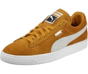 le dernier 2099a 50ae0 Puma Suede Classic inca gold/puma white au meilleur prix sur ...