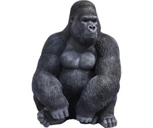 KARE Deko Figur Gorilla XL schwarz