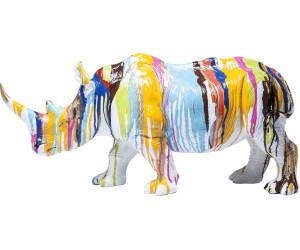 KARE Deko Figur Rhino Colore 26cm