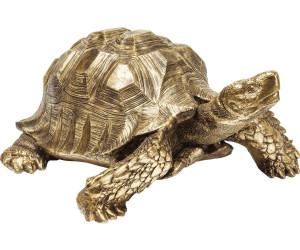KARE Deko Figur Turtle Schildkröte Gold XL