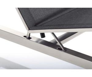 kettler feel liege edelstahl textilene grau meliert 0104914 9400 ab 819 99 preisvergleich. Black Bedroom Furniture Sets. Home Design Ideas