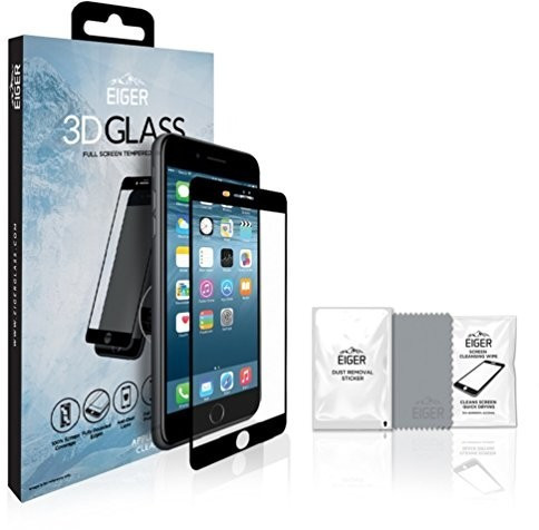 Image of Eiger 3D GLASS (iPhone 8) black