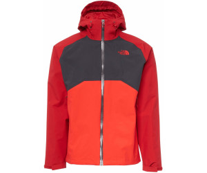 huge selection of 6355a aae50 The North Face Herren Stratos Jacke rage red/high risk red ...