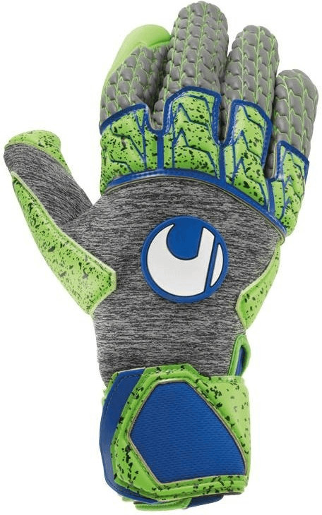 Uhlsport Tensiongreen Supergrip Reflex dark grey melange/fluo green