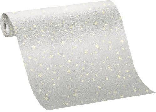 Marburg Tapeten Kunterbunt Sterne hellblau (71004)