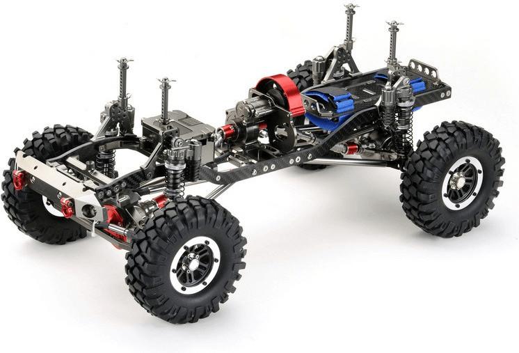 Absima Crawler ´´CR-01 gun metal´´ 4WD Rolling ...