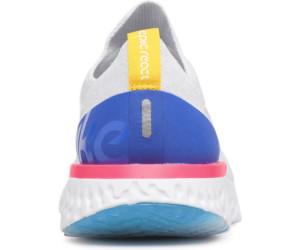 Offizielle Seite Ebay Zum Verkauf EPIC REACT FLYKNIT - Laufschuh Neutral - white/racer blue/pink Websites Online-Verkauf HV4786R0