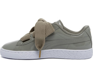 first rate a5e4d f36ee Buy Puma Basket Heart Patent rock ridge/rock ridge from ...