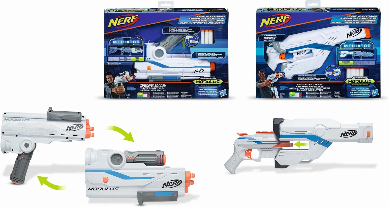 Nerf N-Strike Modulus - Upgrade Set Mediator Schulterstütze