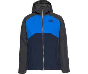 The North Face Herren Stratos Jacke asphalt greybomber blue