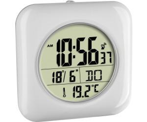 Digitale Funk-Badezimmeruhr mit Temperaturanzeige (60.4513.02)