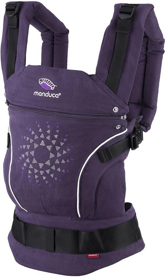 Manduca Babytrage Limited Edition - Purple Darts