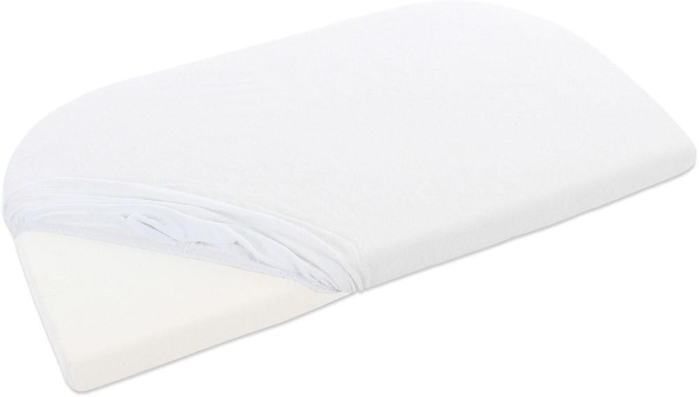 Babybay 100565Rizo sábana bajera Original con membrana, color blanco