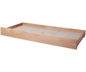 Etagenbett Lupo Ii Massiver Buche : Ticaa schubkasten für einzelbett lupo buche massiv natur ab 69 00