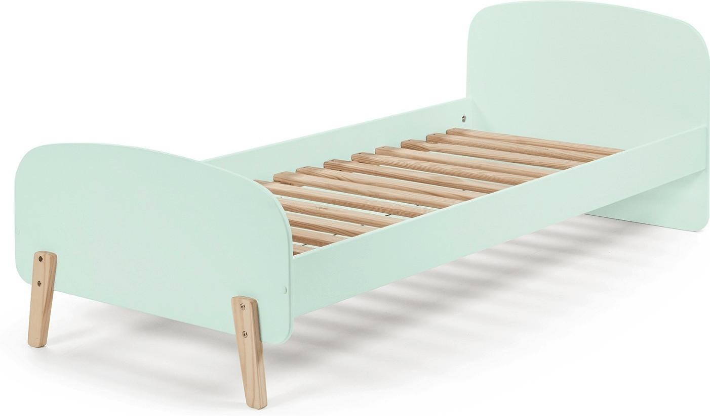 Vipack Kiddy Absturzschutz f/ür Einzelbett Holzwerkstoff hellgrau 90 x 6 x 25 cm