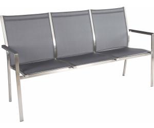 Stern Cardiff 3 Sitzerbank 160cm Edelstahl Textilene Im Angebot Ab 539 00 Idealo De